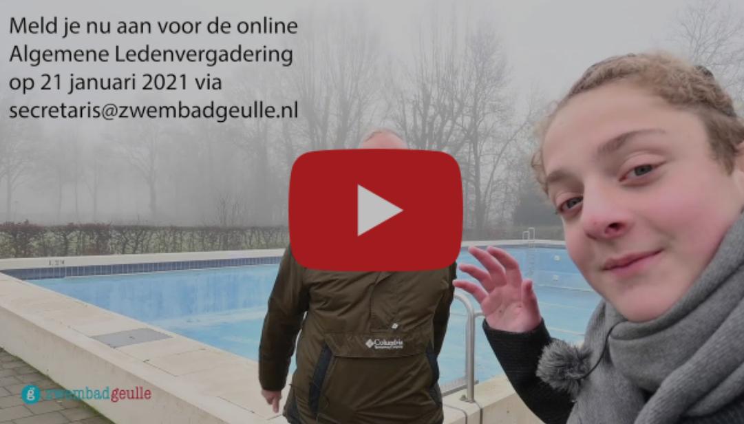 Vlogger Bas op bezoek bij zwembad Geulle